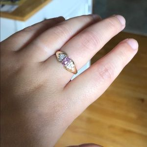 14kt Gold Morganite Ring